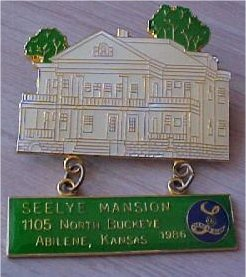 Seelye Mansion pin from 1986