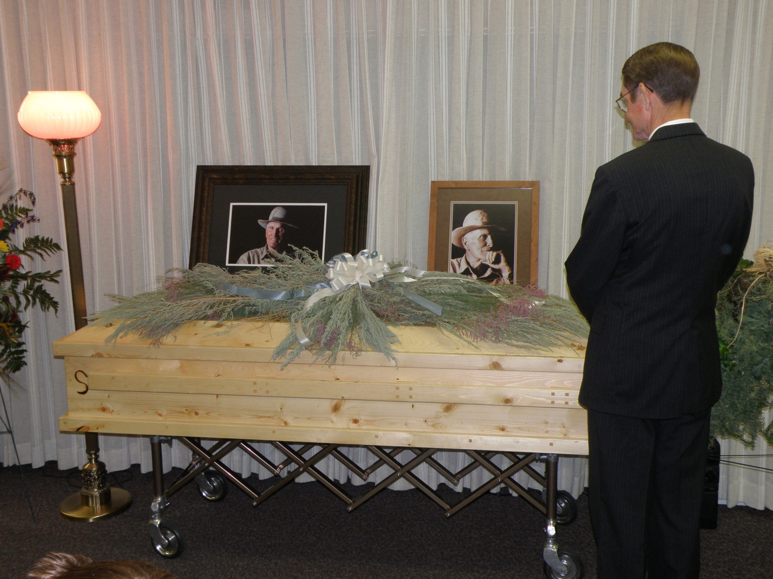 Edwin Montell Seely - funeral