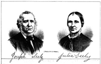 Joseph Seely and Julia Seely