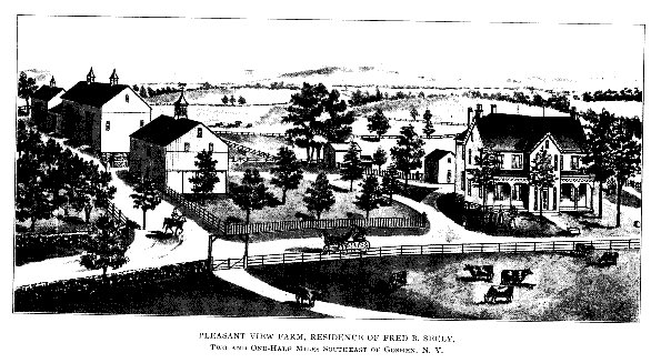 Pleasant View Farm - residence of Fred B. Seely