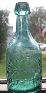 Early era porter bottle