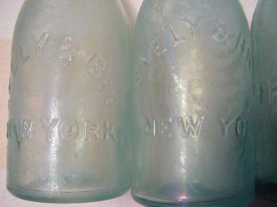 Seely & Bros Pony Soda Bottles