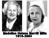Madeline Helene Merrill Mills